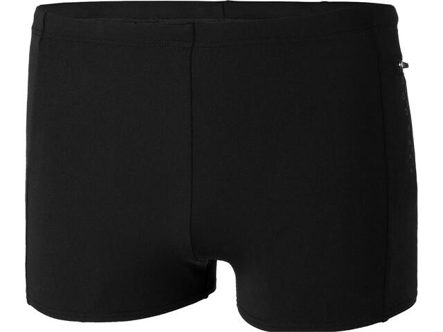 speedo Contrast Pocket Aquashorts Heren, pocket black/oxid grey